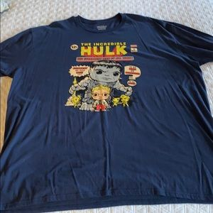 Navy Blue Hulk T-Shirt